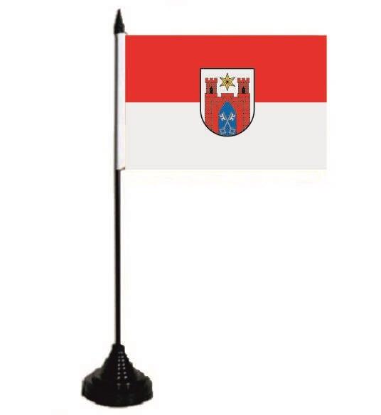 Tischflagge Lübbecke 10 x 15 cm