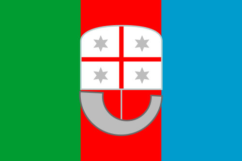 Aufkleber Ligurien