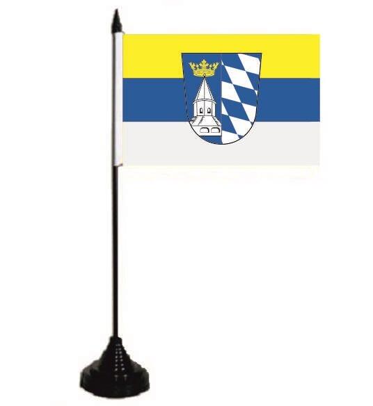Tischflagge Landkreis Altötting 10 x 15 cm