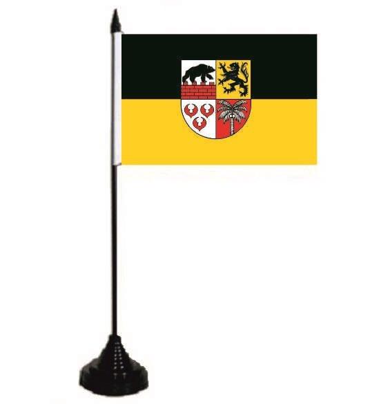Tischflagge Landkreis Anhalt-Bitterfeld 10 x 15 cm
