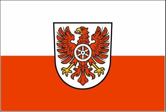 Aufkleber Landkreis Eichsfeld 8 x 5 cm
