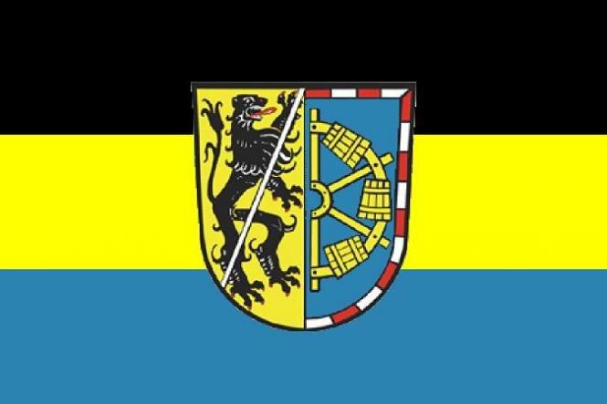 Aufkleber Landkreis Erlangen - Hoechstadt