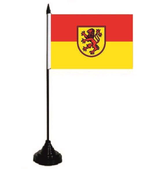 Tischflagge Lünen 10 x 15 cm