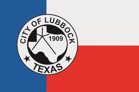 Aufkleber Lubbock City Texas