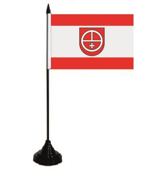 Tischflagge Lustadt 10 x 15 cm