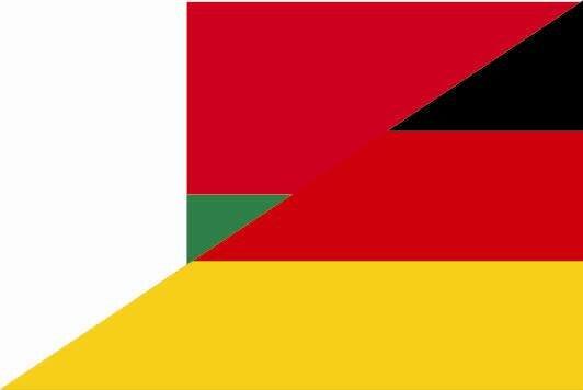 Aufkleber Madagaskar - Deutschland