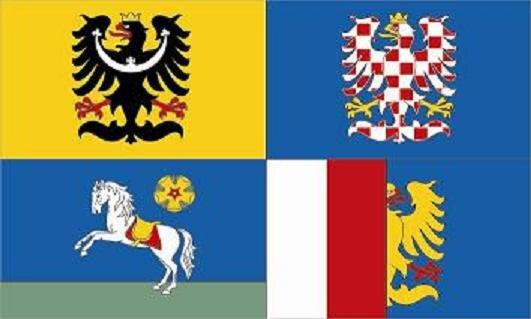 Aufkleber Mährisch - Schlesien Region