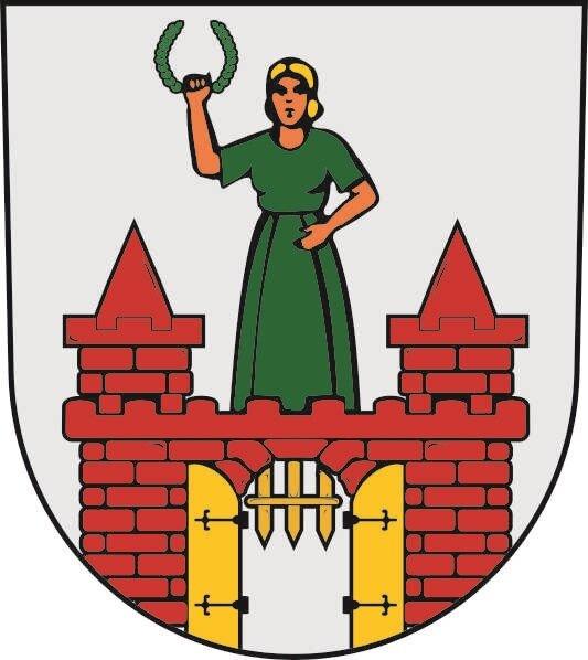 Aufkleber Magdeburg Wappen