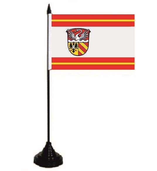 Tischflagge Main-Kinzig-Kreis 10 x 15 cm