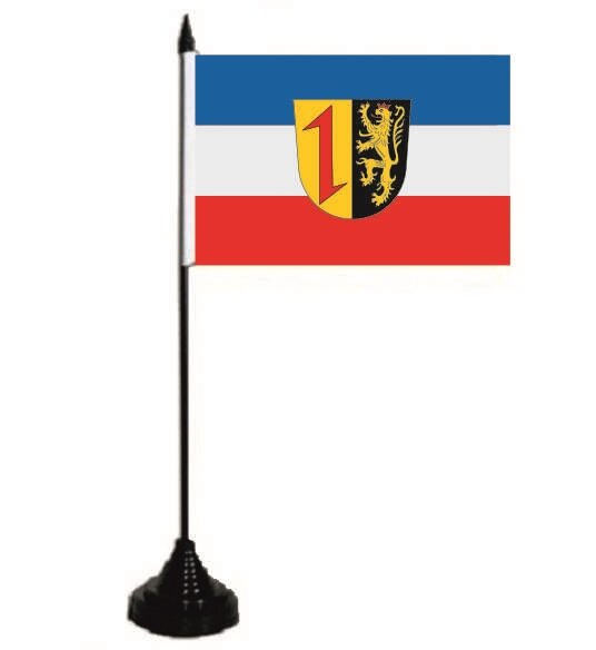 Tischflagge Mannheim 10 x 15 cm