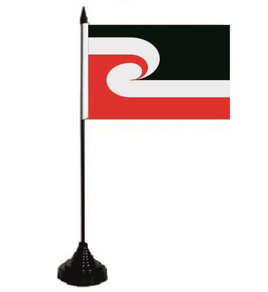 Tischflagge Maori 10 x 15 cm