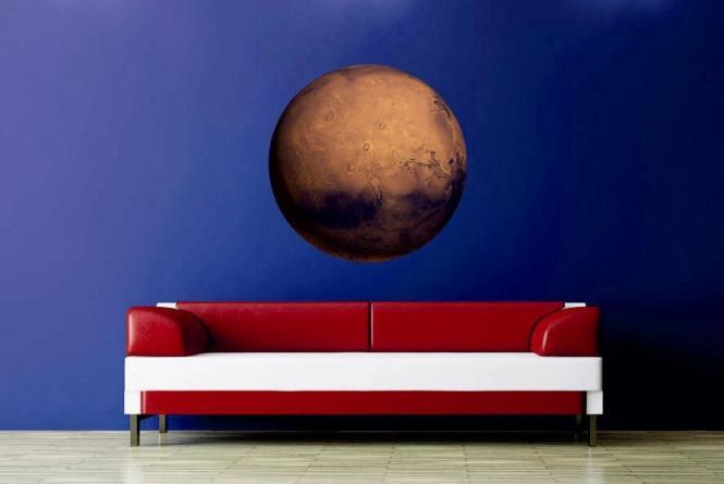 Wandtattoo Mars Fotografie
