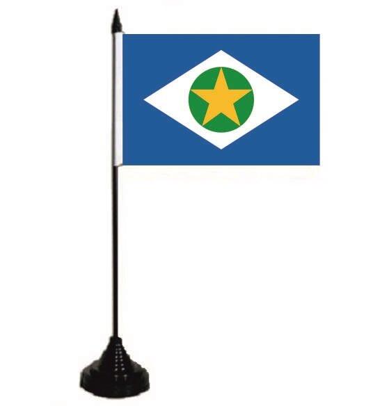 Tischflagge Mato Grosso (Brasilien) 10 x 15 cm