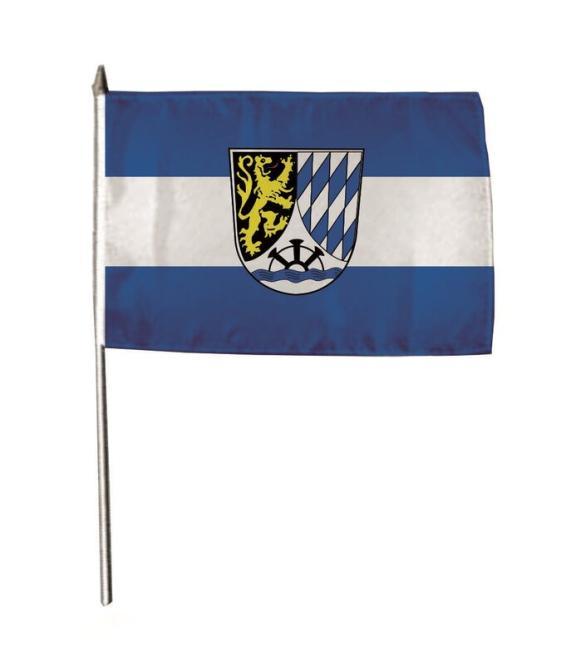 Stockflagge Meckesheim 30 x 45 cm