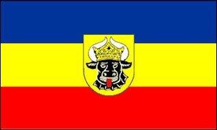 Fahne Mecklenburg 60 x 90 cm