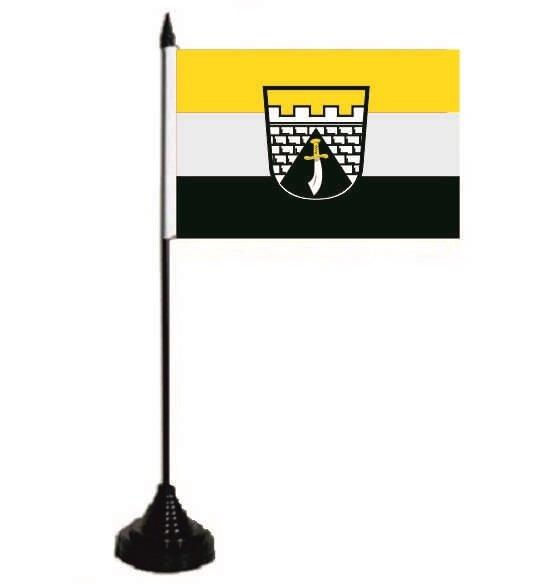 Tischflagge Mering 10 x 15 cm