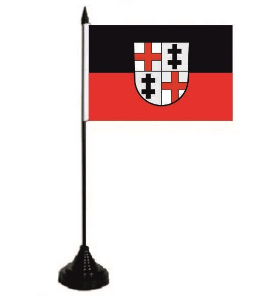 Tischflagge Merzig 10 x 15 cm