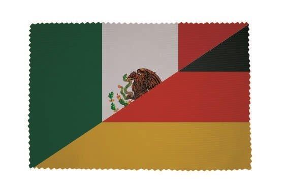 Glasreinigungstuch Mexiko-Deutschland