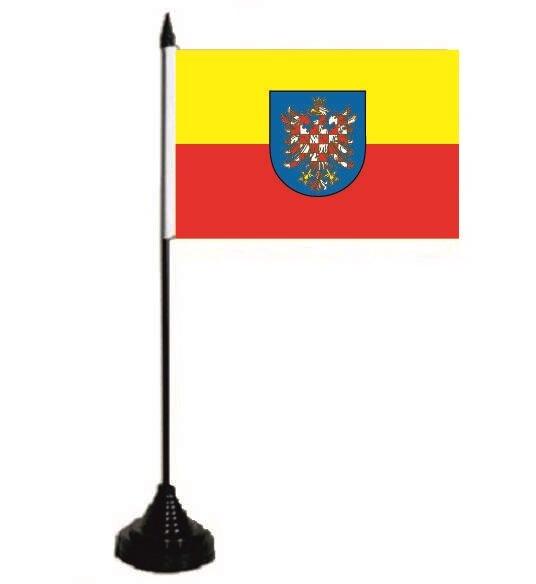 Tischflagge Mähren 10 x 15 cm