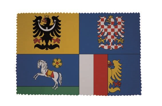 Glasreinigungstuch Mährisch-Schlesische Region