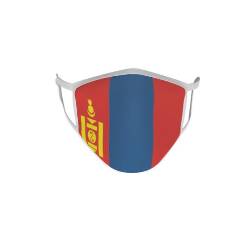 Gesichtsmaske Behelfsmaske Mundschutz Mongolei L