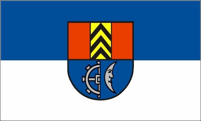 Flagge Müllheim ( Baden )