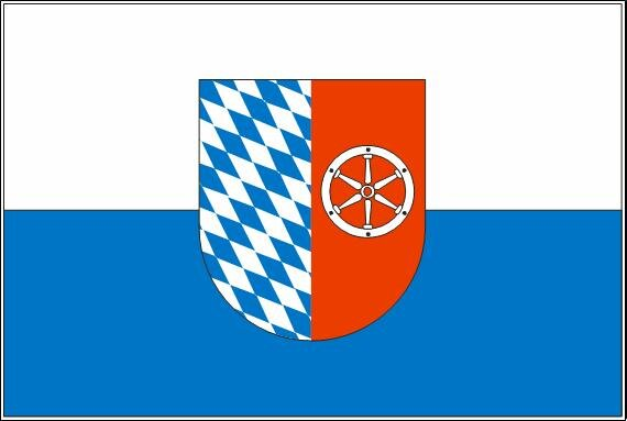 Flagge Neckar - Odenwald - Kreis