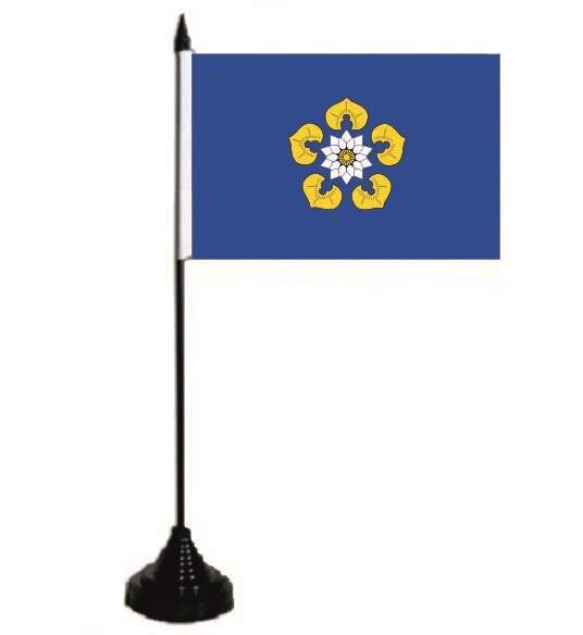 Tischflagge Nettetal 10 x 15 cm