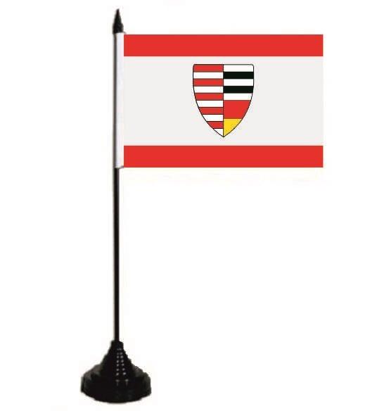 Tischflagge Neu-Isenburg 10 x 15 cm