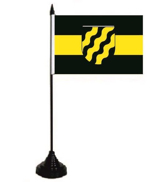 Tischflagge Neukirchen-Vluyn 10 x 15 cm