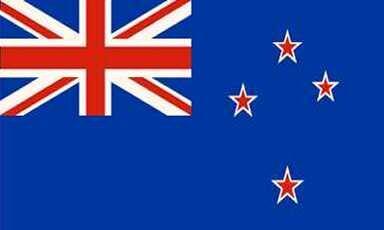 Aufkleber Neuseeland