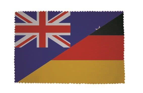 Glasreinigungstuch Neuseeland-Deutschland