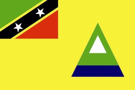 Aufkleber Nevis