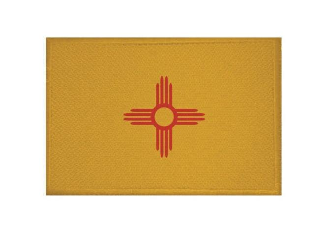 Aufnäher Patch New Mexico 9 x 6 cm