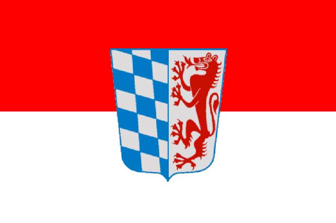 Flagge Niederbayern