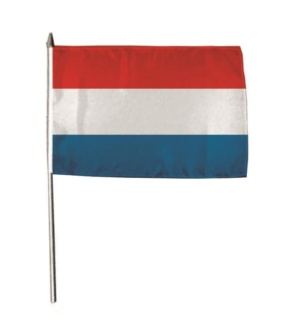 Stockflagge Niederlande 30 x 45 cm