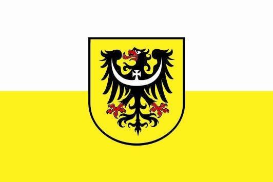 Flagge Niederschlesien