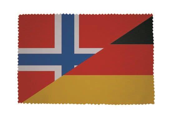 Glasreinigungstuch Norwegen-Deutschland