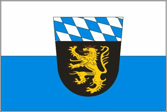 Fahne Oberbayern 90 x 150 cm