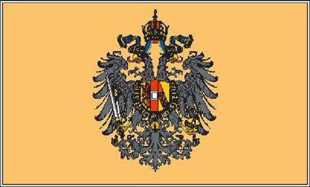 Aufkleber Österreich-Ungarn Adler