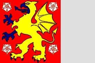 Flagge Oestergoetland 120 x 120 cm