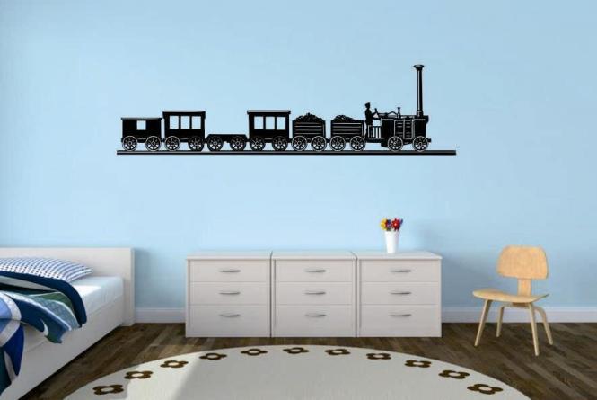 Wandtattoo Old Train Motiv Nr. 1