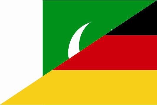 Aufkleber Pakistan-Deutschland