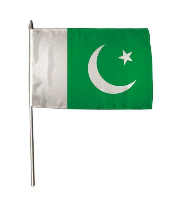 Stockflagge Pakistan 30 x 45 cm