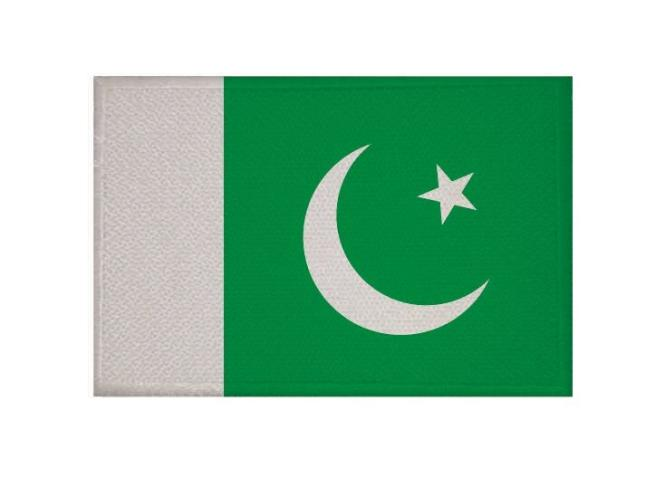Aufnäher Patch Pakistan 9 x 6 cm