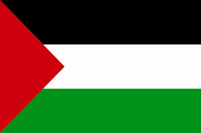 Aufkleber Palästina