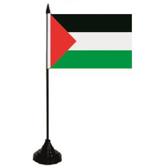 Tischflagge Palästina 10 x 15 cm