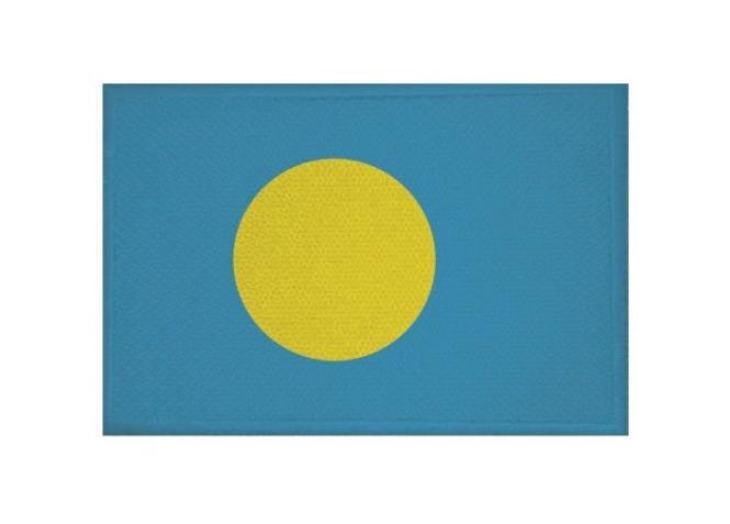 Aufnäher Patch Palau 9 x 6 cm