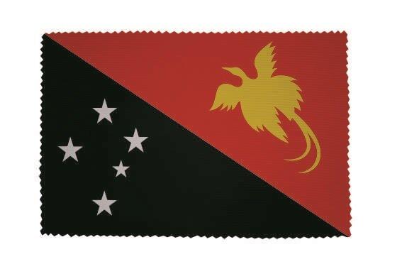 Glasreinigungstuch Papua Neuguinea
