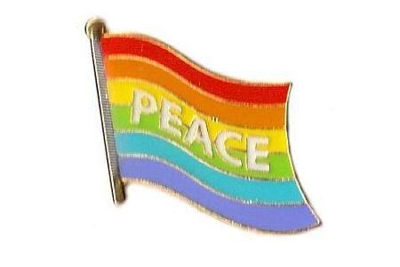 Pin Peace 20 x 17 mm